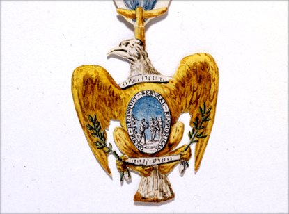 Sketch of Insignia of the Society of the Cincinnati